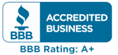 bbb accredited business bbb rating:A+